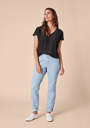 Fancy boyfriend: jeans met slijtageplekken