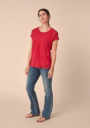Shirt van chiffon