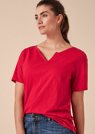 Lässiges Flammgarn-Shirt