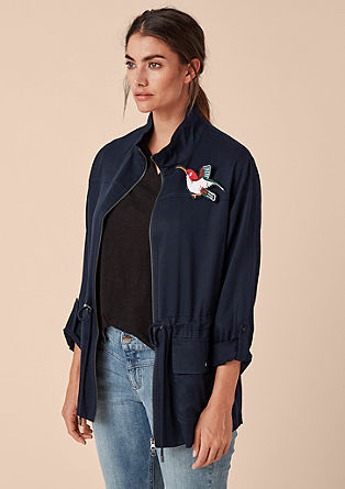 Casual transitional jacket from s.Oliver