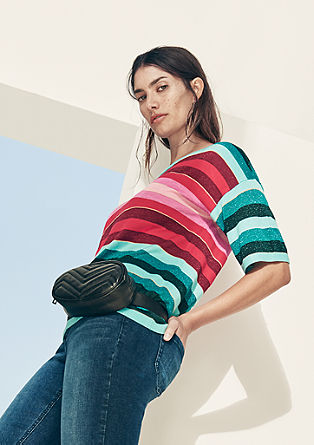 Colourful short sleeve jumper from s.Oliver