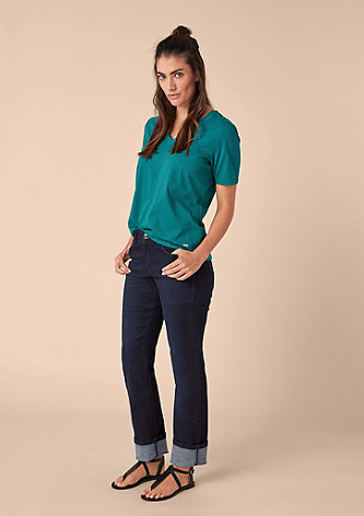 Curvy Straight: Stretchjeans