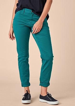 Regular Slim: Pobarvane jeans hlače