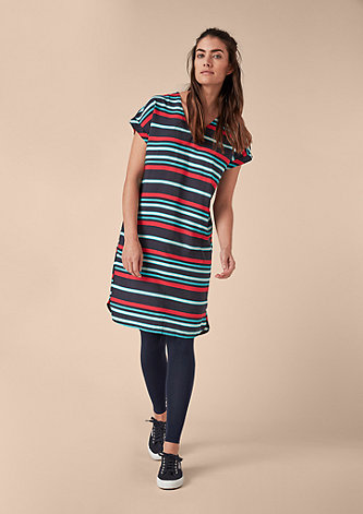 Stretchige Jersey-Leggings