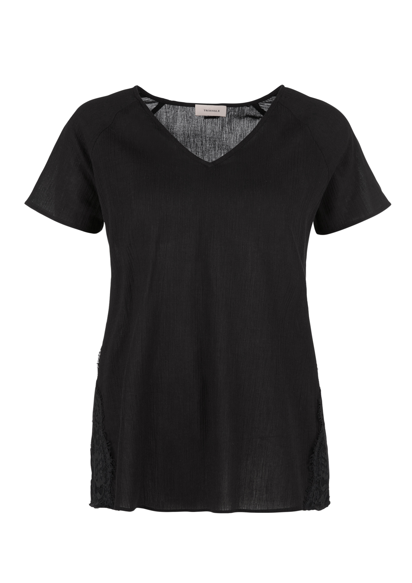 Crinkle-Bluse | Bekleidung > Blusen > Crinkleblusen | TRIANGLE