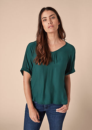 High-low blouse top from s.Oliver