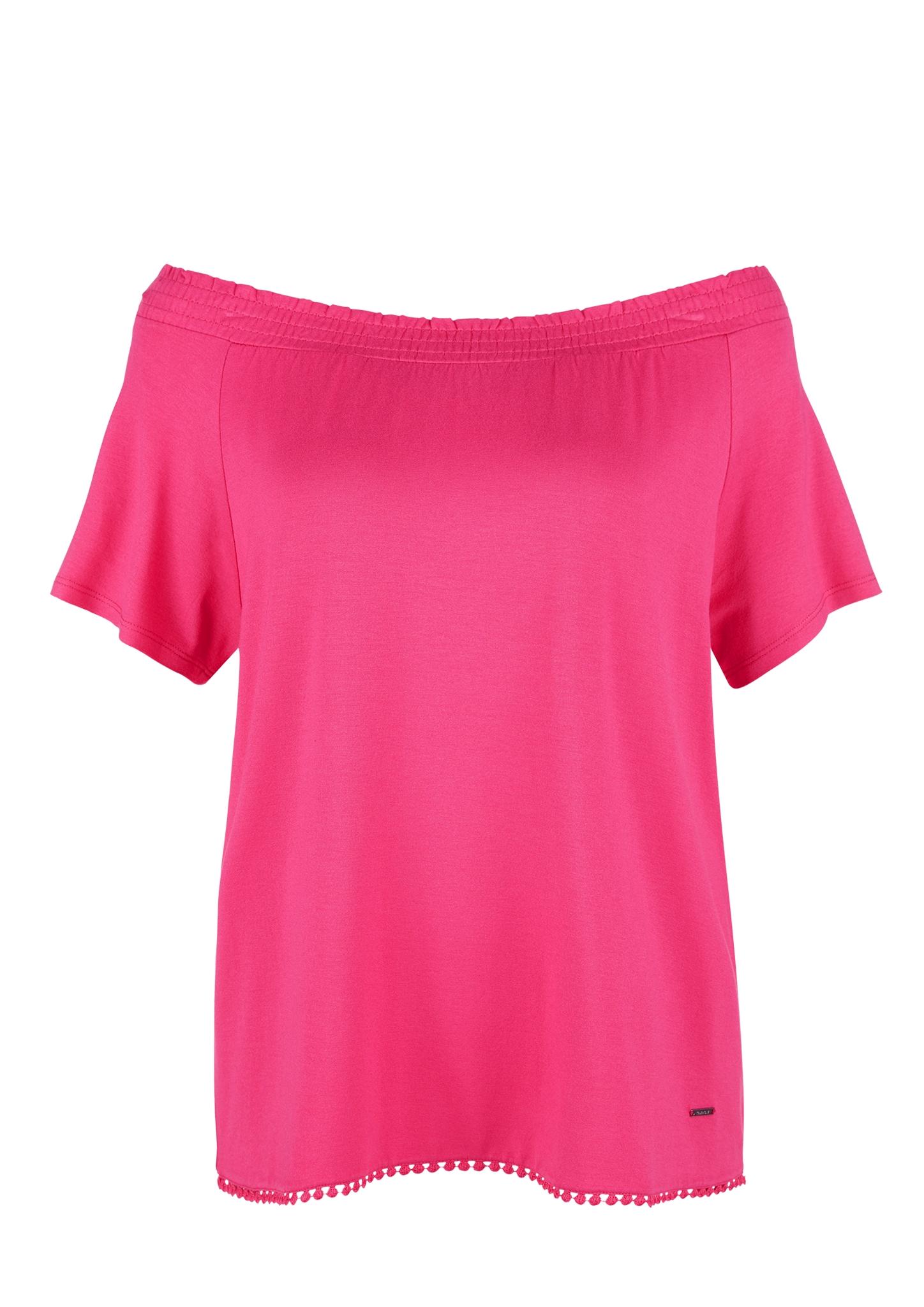 Carmenshirt | Bekleidung > Shirts > Carmenshirts & Wasserfallshirts | Rosa | 95% viskose -  5% elasthan | TRIANGLE