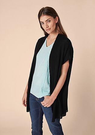 Lehký letní pletený kabátek
