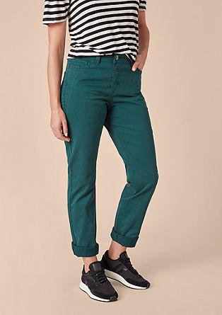 Curvy Slim: Coloured Jeans