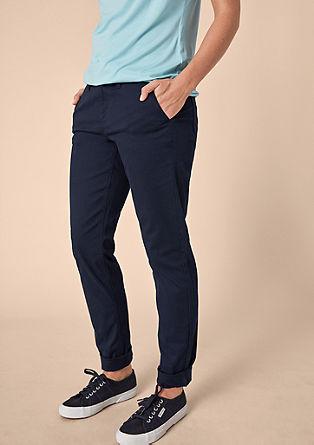 Fancy Boyfried: měkké keprové kalhoty