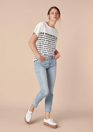 Curvy Extra Slim Leg: Ankle-Jeans