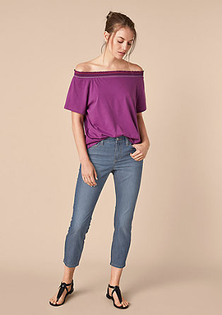 Curvy Extra Slim: Ankle-Jeans