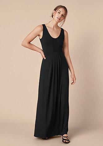 Jerseykleid im Empire-Schnitt