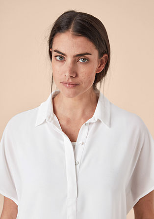 Two-in-one chiffon blouse from s.Oliver