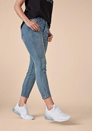 Curvy extra slim: enkellange jeans