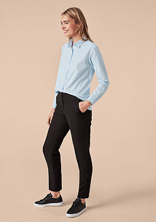Blouse in a boyfriend style from s.Oliver