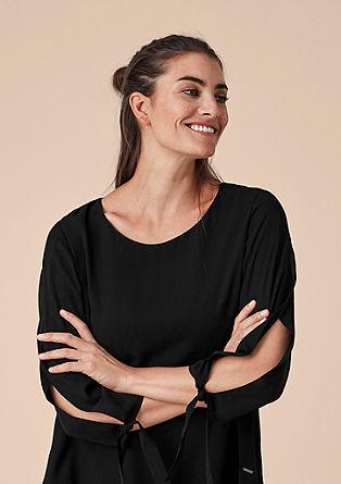 Večplastna bluza iz šifona