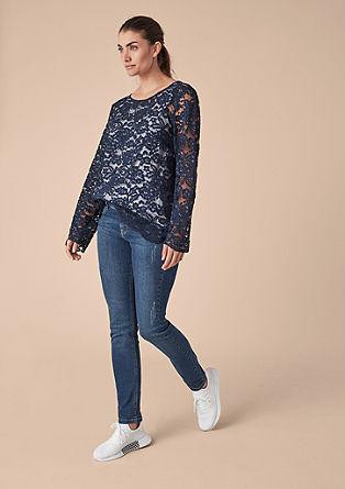 Curvy Slim: džíny sponičenými místy