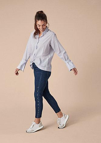Curvy Extra Slim Leg: Ankle Jeans