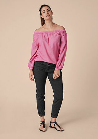 Fancy Boyfriend: dark jeans from s.Oliver
