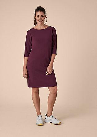 Minimalistische elegante crêpe jurk