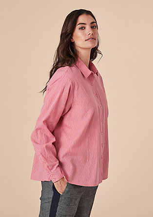 Blouse with stripes from s.Oliver