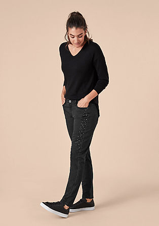 Fancy Boyfriend: Jeans with studs from s.Oliver