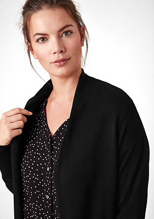 Open-fronted fine knit cardigan from s.Oliver