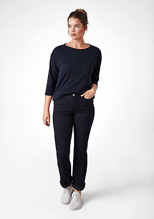 Curvy Flare: stretch jeans from s.Oliver
