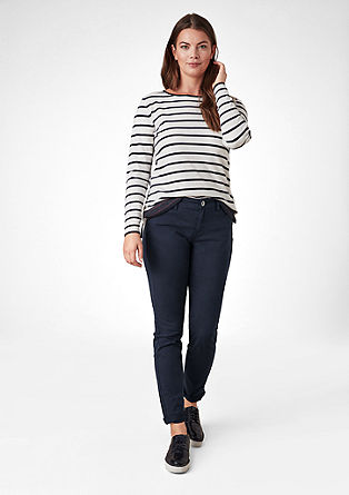 Curvy Extra Slim: Coloured-Jeans