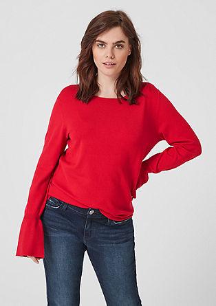 Luchtige fijngebreide trui