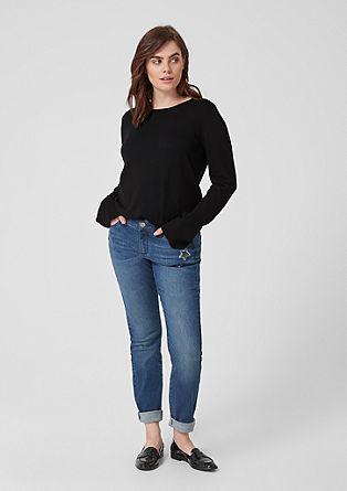 Lehký pulovr zjemné pleteniny