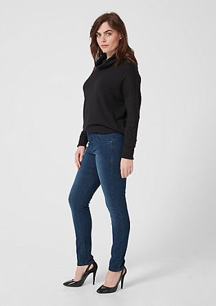Regular slim leg: stretchjeans