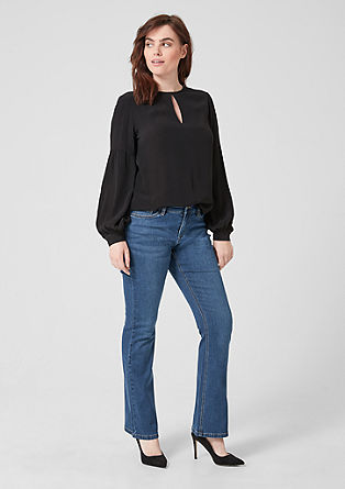 Curvy Flared Leg: Stretch jeans from s.Oliver