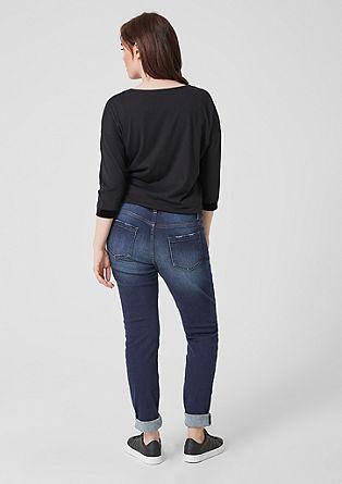Fancy Boyfriend: Raztegljive jeans hlače