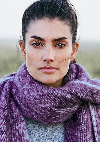 Flauschiger XXL-Schal