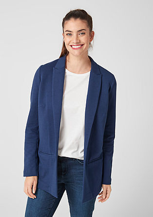 Casual oversized sweatblazer