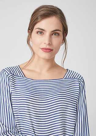 Nautical striped blouse from s.Oliver