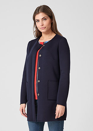 Scuba long blazer from s.Oliver