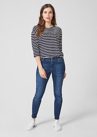 Fancy Boyfriend: Jeans mit Streifen-Detail
