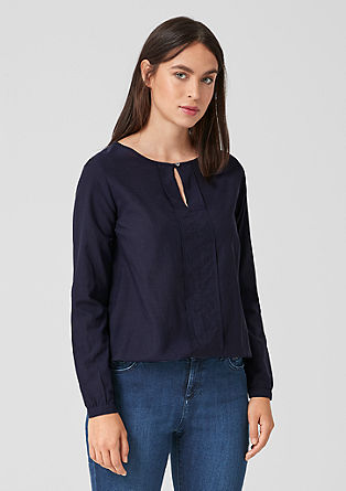 Lightweight batiste blouse from s.Oliver