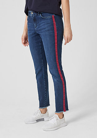 Curvy Extra Slim Leg: Raztegljive jeans hlače