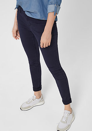 Regular Extra Slim Leg: twill trousers  from s.Oliver