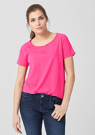 T-shirt with elasticated waistband from s.Oliver