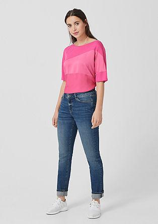 Curvy Slim Leg: Raztegljive jeans hlače