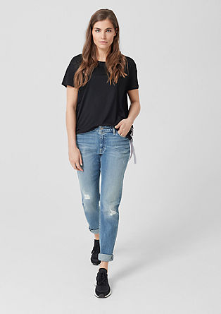 Fancy boyfriend: jeans in used look