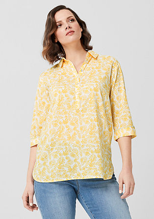 Blouse with a print from s.Oliver