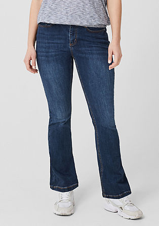 Curvy Flared Leg: Jeans from s.Oliver