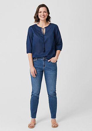 Basic Straight Leg: strečové džíny