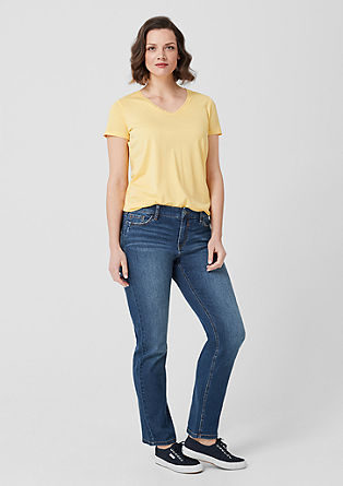 Curvy Straight Leg: Jeans from s.Oliver